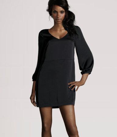 Petite robe simili cuir